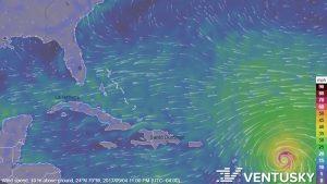 Track Irma on www.Ventusky.com